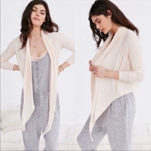 UO Out From Under Grace Cozy Cardigan Sweater Top